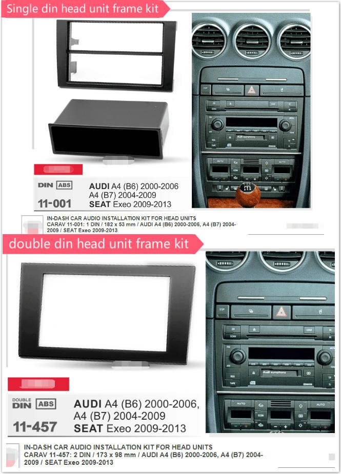 Stereo Install Dash Kit Toyota Celica 00 01 02 03 2000 Double Din Radio Install