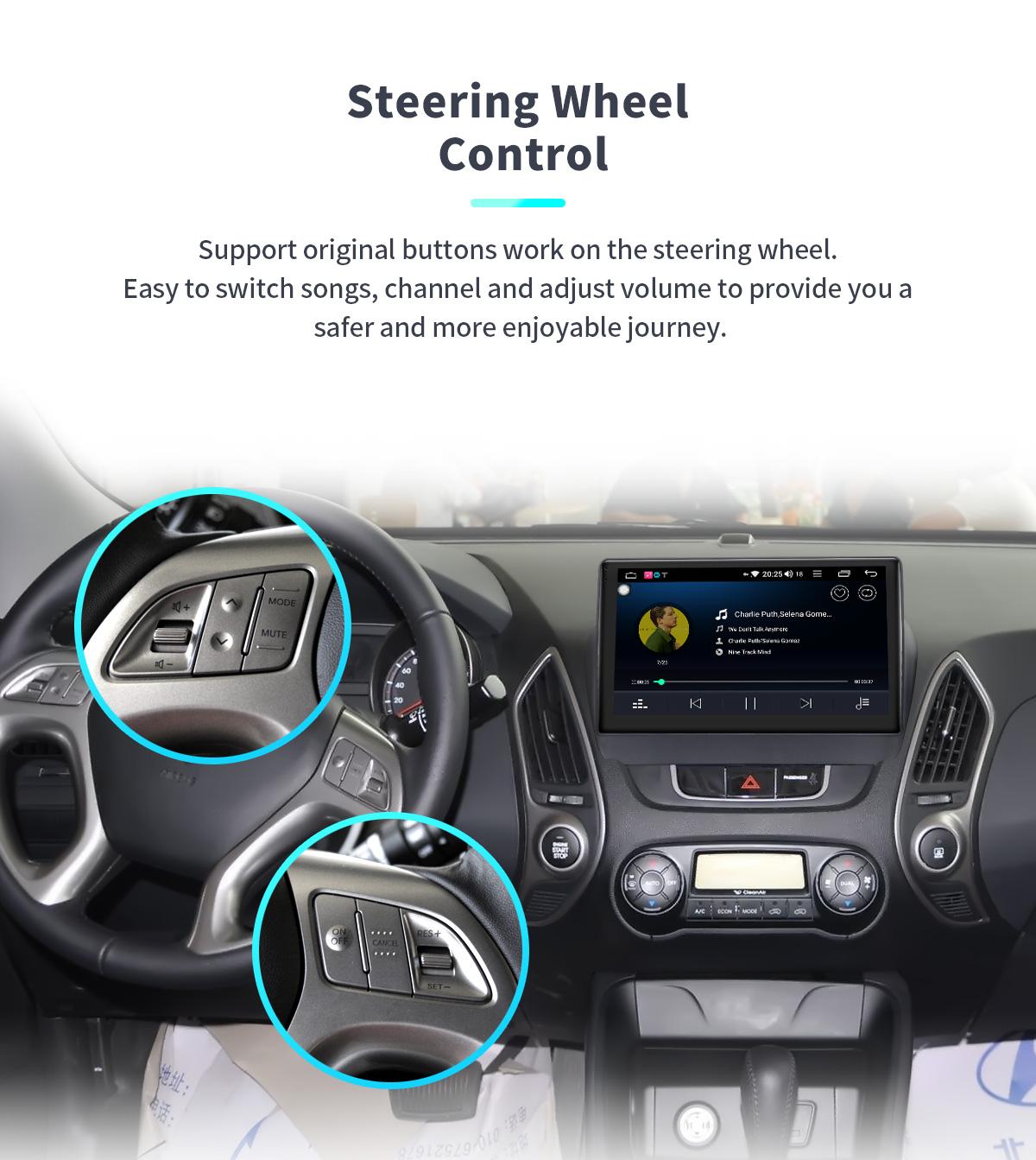 Hyundai IX35 Tucson Android 8 1 CarPlay System 10 1 Inch 4G Head Unit