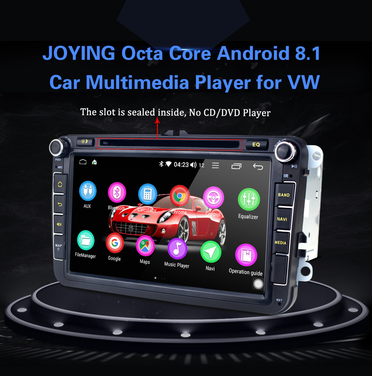 Joying 4G VW/Golf/Jetta/Passat Car Radio Android 8 1 Octa Core 8 inch DSP  Head Unit