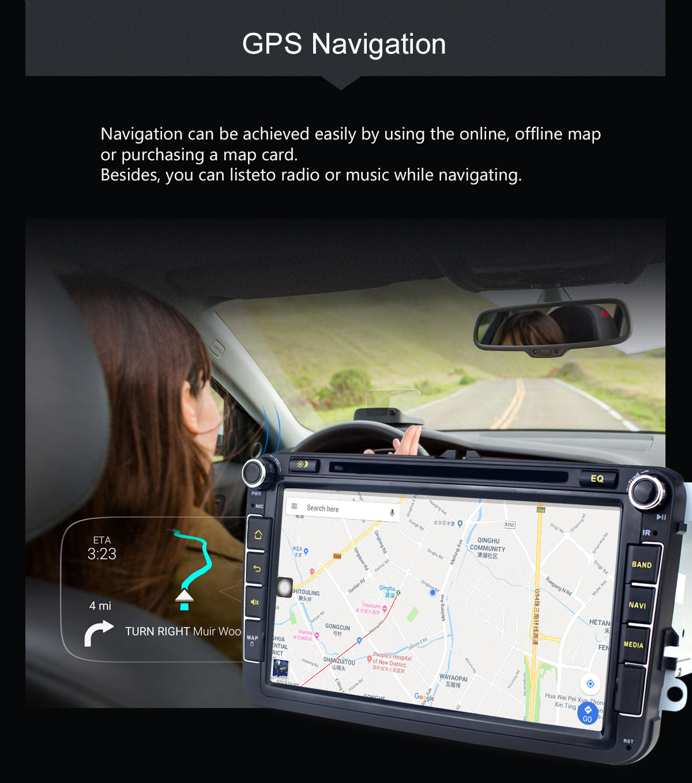 Joying 4G VW/Golf/Jetta/Passat Car Radio Android 8 1 Octa Core 8 inch DSP  Head Unit